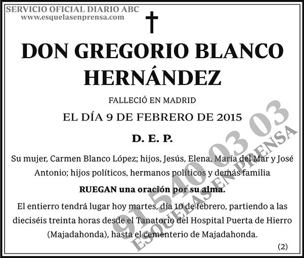 Gregorio Blanco Hernández